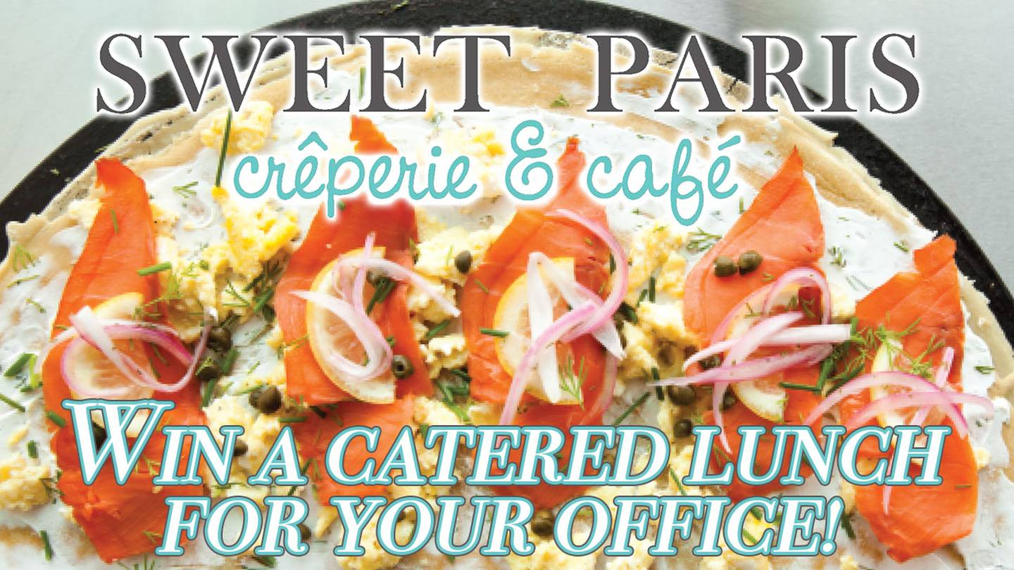 Enter to Win a Catered Brunch for Your Office from Sweet Paris Creperie & Cafe