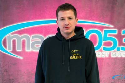 Charlie Puth Private Concert at Magic 105.3