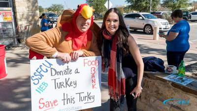 Magic 105.3 Turkey Drive for the San Antonio Food Bank