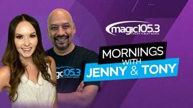 Magic 105.3 Mornings with Jenny & Tony