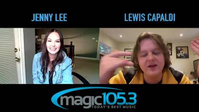 Jenny Lee Talks with Lewis Capaldi - August 2020